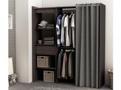 Kleiderschrank Kleiderschranksystem Kylian - Braun