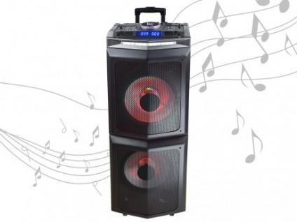Karaoke Lautsprecher Anlage mobil MIX PARTY XXL von BLACK PANTHER