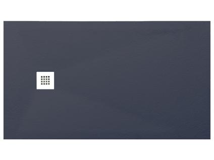 Duschwanne mit Siphon MIRNOS - 1200x900x35mm - Anthrazit