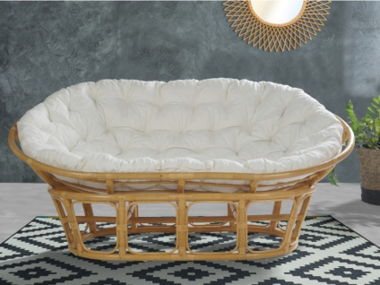 Sofa 2-Sitzer TELIA - Rattan
