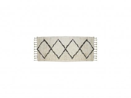 Flurteppich MARCUS - 100% Baumwolle - 80x200 cm