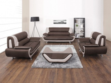 Couchgarnitur 321 Nigel Braun Kaufen Bei Kauf Uniquede