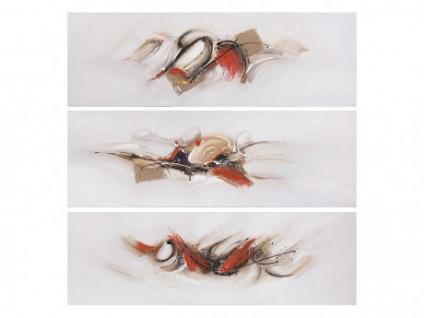 Ölbild Kunstdruck 3er-Set ICONE - 3x50x150 cm