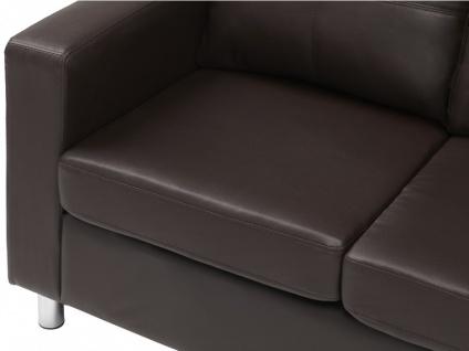 Sofa 2-Sitzer Ackley - Braun - Vorschau 5