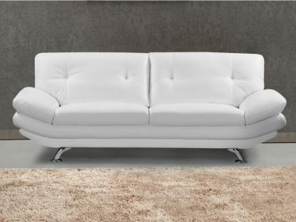 3-Sitzer-Sofa FORREST - Weiß