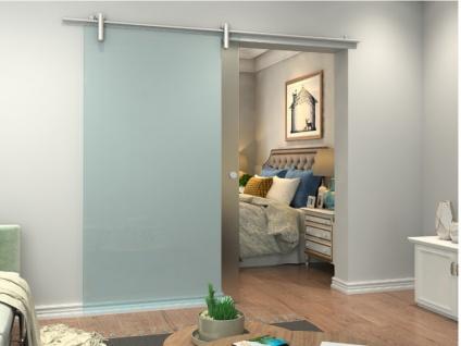 Glasschiebetür Sicherheitsglas CLEAVER - H 205 x B 93 cm