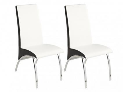 Stuhl 2er-Set Anita - Weiß