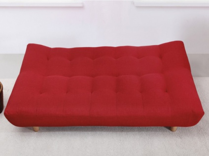 Schlafsofa Klappsofa Stoff Vincent - Rot 5