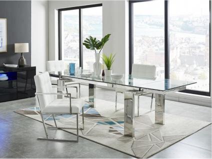 Essgruppe LUBANA: Esstisch + 6 Stühle - Vorschau 4