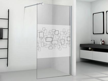 Duschtrennwand Seitenwand italienische Dusche PAULINA II - 90x190 cm