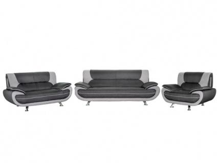 Couchgarnitur 3+2+1 Nigel - Grau