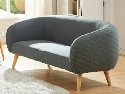 2-Sitzer-Sofa Stoff PENNY - Anthrazit