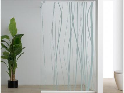 Duschtrennwand Seitenwand italienische Dusche DANNA - 140x200cm