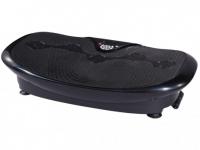 Fitness Vibrationsplatte PERSES - 30 Vibrationsstufen - Schwarz