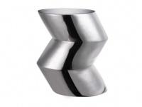 Sitzhocker Inside Art Design Aluminium Shape