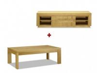 Sparset TV-Möbel + Couchtisch SYMPHONIE