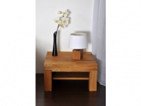 Nachttisch Holz Isaure - Eiche geölt