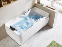 Whirlpool Badewanne GAVINO - 1 Person - 140 Liter