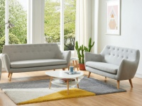 Couchgarnitur 3+2 Stoff JENNY