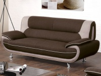 3-Sitzer-Sofa Stoff Nigel - Braun