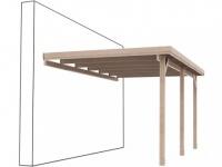 Terassenüberdachung Pergola Holz RASMUS - 300x520cm (15, 6m²)