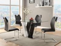 Sparset WINCH: Esstisch + 4 Stühle