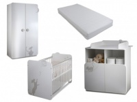 Sparset Babyzimmer: Kollektion Catty (4 tlg.)