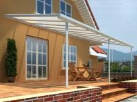 Terrassendach Pergola Aluminium FORTALEZA - 545x350x260cm