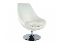 Lounge-Sessel Eliope - Drehbar - Weiß