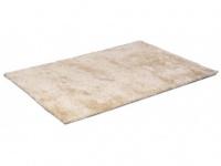 Hochflor-Teppich Vanilla - Elfenbein - 120x170cm