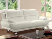 Sofa 3-Sitzer MUSKO - Weiß