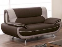 2-Sitzer-Sofa Stoff Nigel - Braun