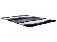 Hochflorteppich Ecume - Grautöne - 140x200cm