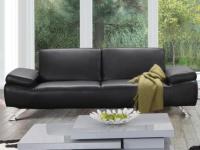 Sofa 3-Sitzer Polka - Schwarz