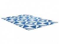 Teppich Polyester ARTIK - Handgetuftet - 160x230cm - Blau
