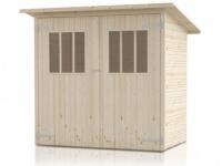 Gartenhaus Blockhaus FUGIO - 2, 4m²