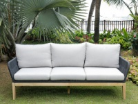 Garten 3-Sitzer-Sofa Holz KOLOA