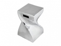 Sitzhocker Inside Art Design Aluminium Twisty