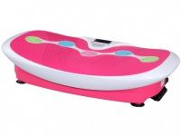 Fitness Vibrationsplatte PERSES - 30 Vibrationsstufen - Rosa