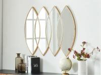 Wandspiegel Art Déco ESTELLE - 80x100cm