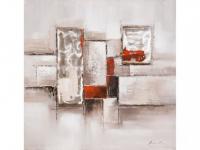 Kunstdruck Öl auf Leinwand SEREINE - 100x100cm
