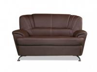 2-Sitzer-Sofa Focus - Braun
