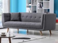 3-Sitzer-Sofa Stoff KARL - Grau