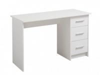 Schreibtisch LEONDINE - 3 Schubladen