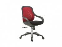 Bürostuhl CADENCIA - Höhenverstellbar - Rot