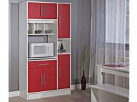 Küchenbuffet Buffetschrank MADY - Rot