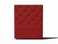 Kopfteil Bett gepolstert Enza - Breite: 92 cm - Rot