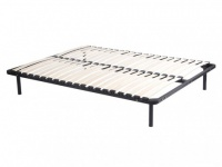 Lattenrost ErgoOpti Standard mit Füßen - 160x200cm - Schwarz