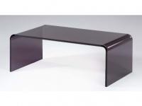 Couchtisch Acrylglas Design Leslie - Grau