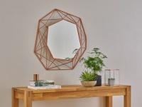 Wandspiegel SAFIRA - Durchmesser: 61cm